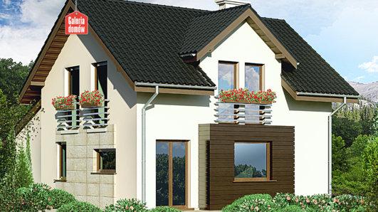 Projekt domu - Dom przy Kalinowej 4