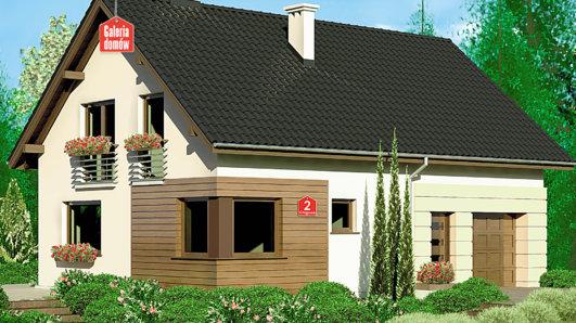 Projekt domu - Dom przy Głogowej 2