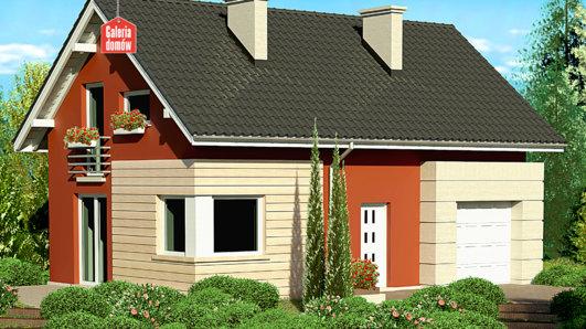 Projekt domu - Dom przy Polnej 2