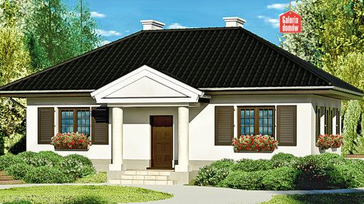 Projekt domu - Dom przy Topolowej