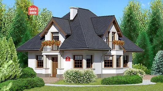 Projekt domu - Dom przy Sielskiej 2