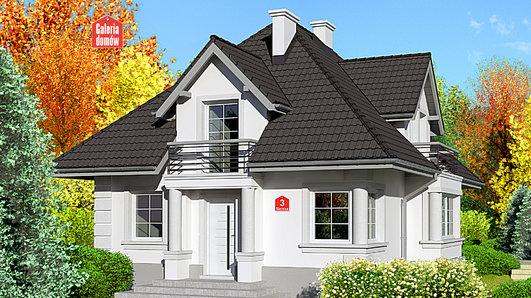 Projekt domu - Dom przy Sielskiej 3