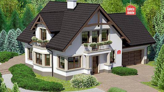 Projekt domu - Dom przy Przyjaznej 2