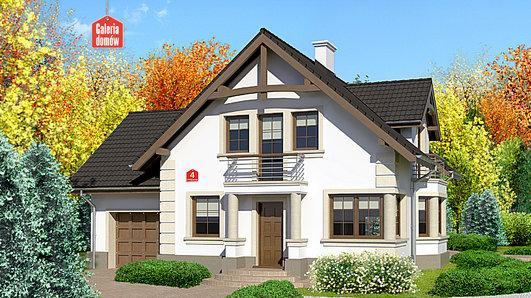 Projekt domu - Dom przy Przyjaznej 4