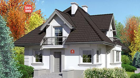 Projekt domu - Dom przy Sielskiej 4