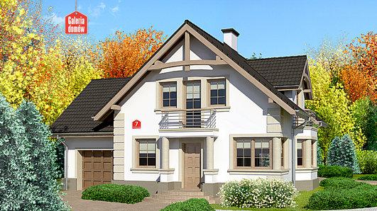 Projekt domu - Dom przy Przyjaznej 7