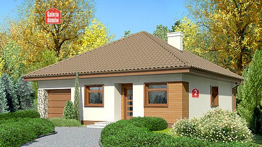 Projekt domu - Dom przy Niezapominajek 2