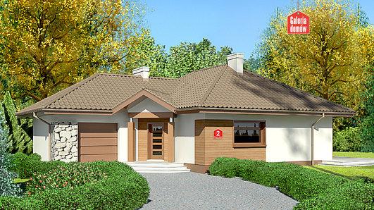 Projekt domu - Dom przy Bajecznej 2