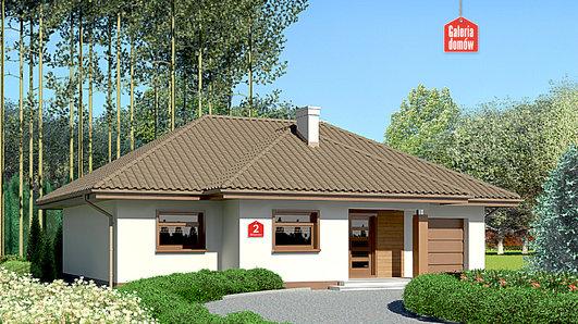 Projekt domu - Dom przy Altanowej 2