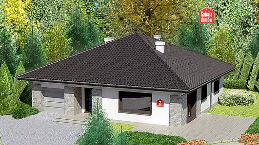 Projekt domu - Dom przy Słonecznej 2