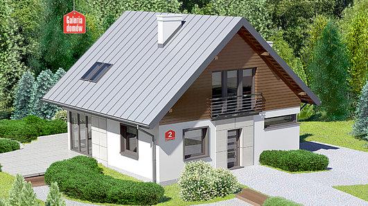 Projekt domu - Dom przy Cyprysowej 2