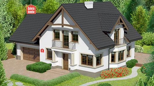 Projekt domu - Dom przy Przyjaznej 8