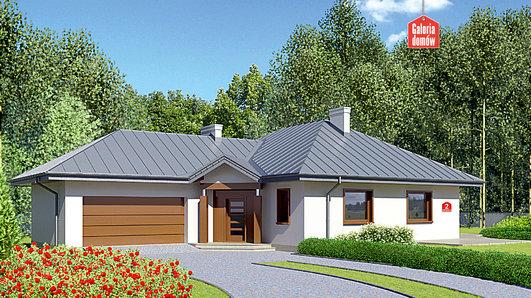 Projekt domu - Dom przy Jaśminowej 2