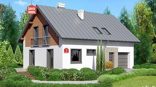 Projekt domu - Dom przy Głogowej 3