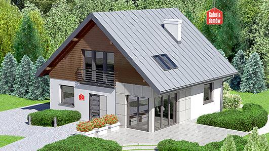 Projekt domu - Dom przy Cyprysowej 3