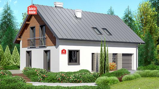 Projekt domu - Dom przy Głogowej 4