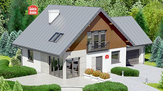 Projekt domu - Dom przy Cyprysowej 4