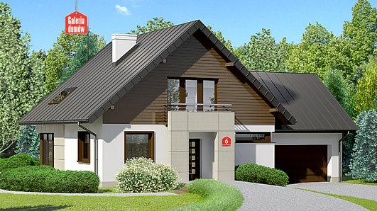Projekt domu - Dom przy Cyprysowej 6