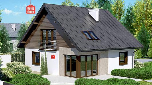 Projekt domu - Dom przy Cyprysowej 7