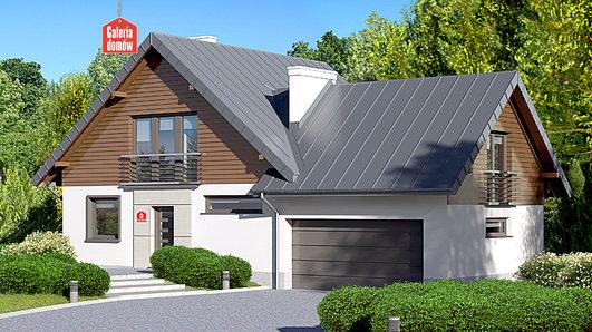 Projekt domu - Dom przy Cyprysowej 8