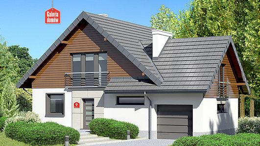 Projekt domu - Dom przy Cyprysowej 9