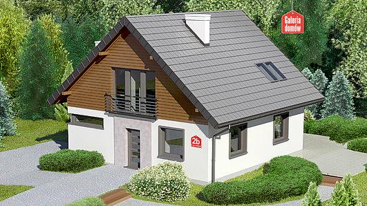 Projekt domu - Dom przy Cyprysowej 2 bis