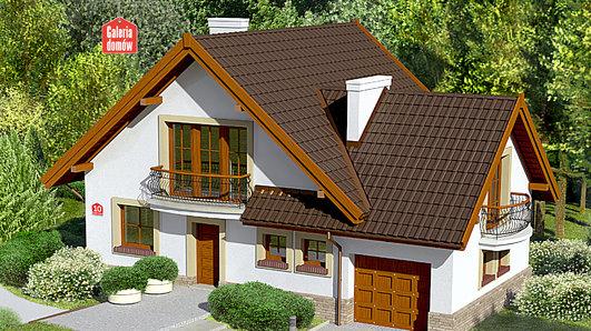 Projekt domu - Dom przy Cyprysowej 10