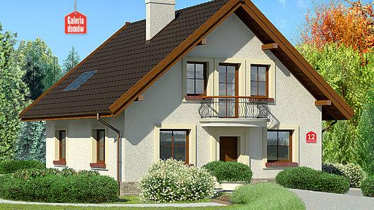 Projekt domu - Dom przy Cyprysowej 12
