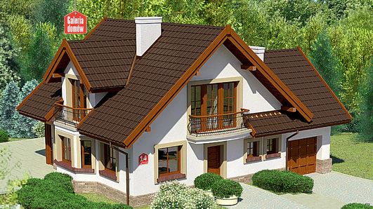 Projekt domu - Dom przy Cyprysowej 14