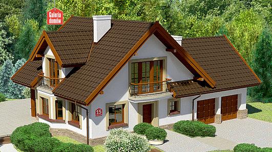 Projekt domu - Dom przy Cyprysowej 15