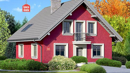 Projekt domu - Dom przy Cyprysowej 16