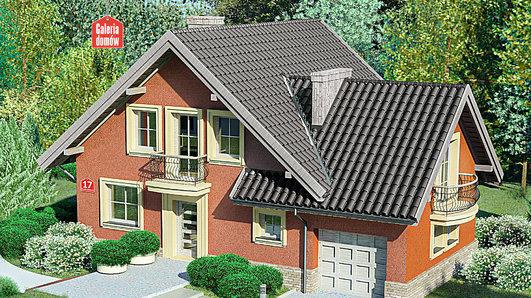Projekt domu - Dom przy Cyprysowej 17