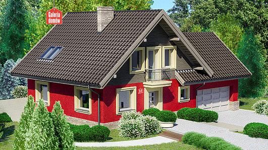 Projekt domu - Dom przy Cyprysowej 18