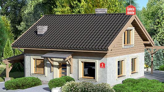 Projekt domu - Dom przy Imbirowej