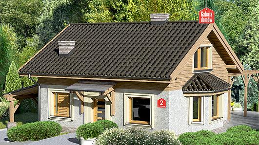 Projekt domu - Dom przy Imbirowej 2