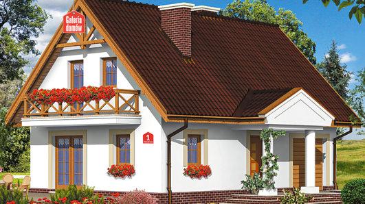Projekt domu - Dom przy Sosnowej