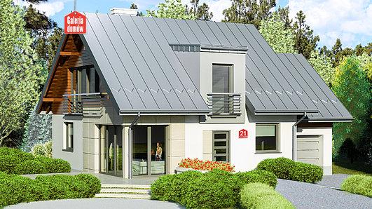 Projekt domu - Dom przy Cyprysowej 21