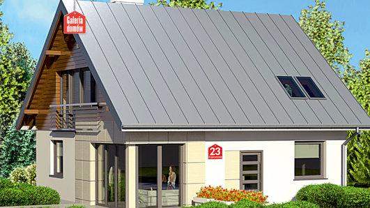 Projekt domu - Dom przy Cyprysowej 23