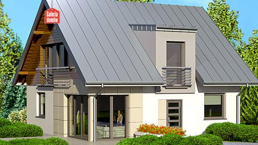 Projekt domu - Dom przy Cyprysowej 22