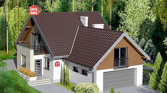 Projekt domu - Dom przy Cyprysowej 19