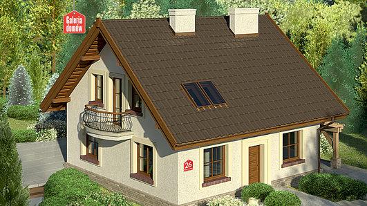 Projekt domu - Dom przy Cyprysowej 26
