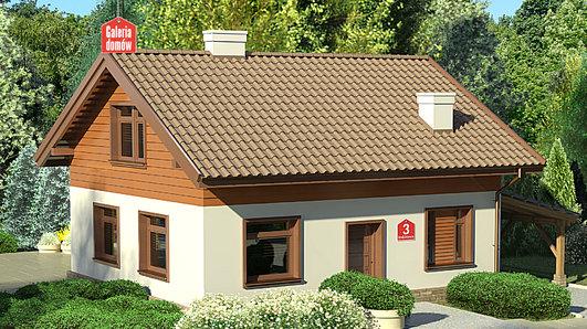 Projekt domu - Dom przy Imbirowej 3