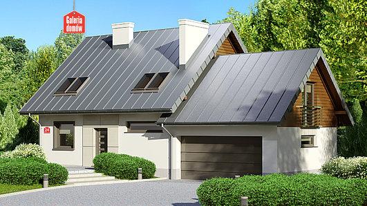 Projekt domu - Dom przy Cyprysowej 24