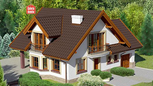 Projekt domu - Dom przy Cyprysowej 25