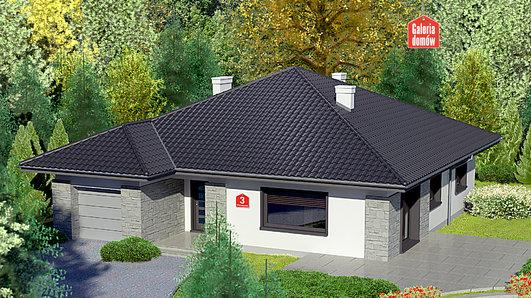 Projekt domu - Dom przy Słonecznej 3