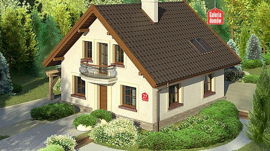 Projekt domu - Dom przy Cyprysowej 27