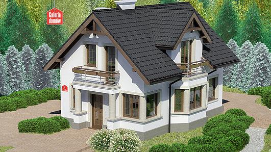 Projekt domu - Dom przy Waniliowej