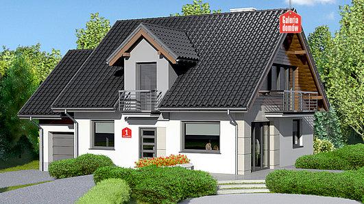 Projekt domu - Dom przy Wiosennej