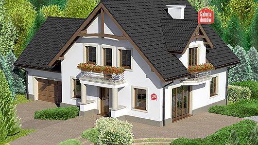 Projekt domu - Dom przy Cyprysowej 28