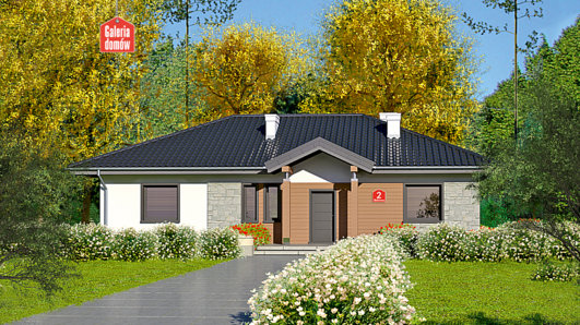 Projekt domu - Dom przy Bukowej 2